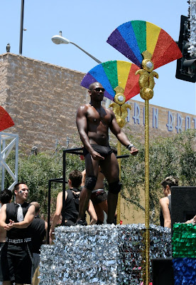 Hot chocolate guy West Hollywood Pride 2010