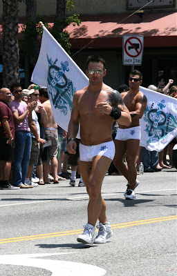 Hot Abbey guy West Hollywood Pride 2010