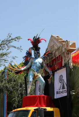 Bienestar performer LA Pride Parade 2010
