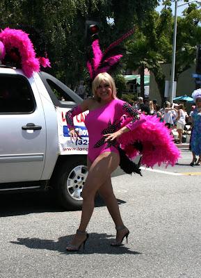 Los Candiles NIghtclub dancer LA Pride 2010