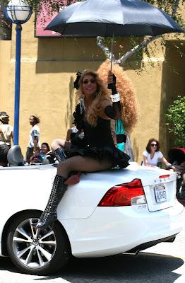 Jessica Wild Drag Queen LA Pride 2010