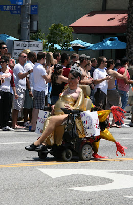 Golden Queen Los Angeles Pride 2010