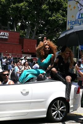 Tyra Sanchez and Jessica Wild LA Pride 2010