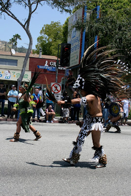 Tribal costumes LA Pride 2010