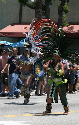 WEHO Pride 2010 tribal dancers