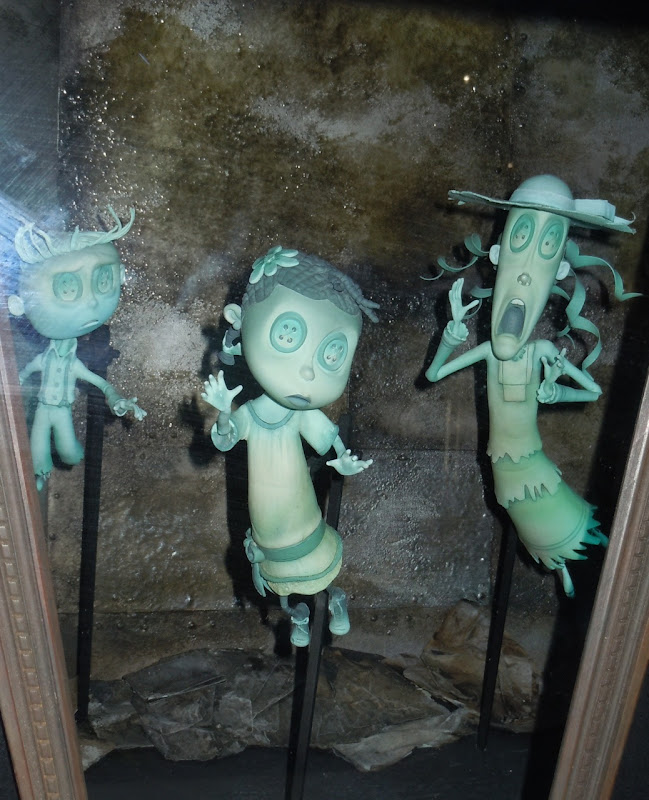 Coraline stop-motion ghost children puppets