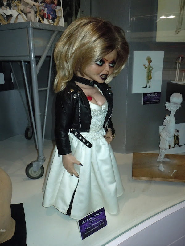 Seed of Chucky Tiffany animatronic model