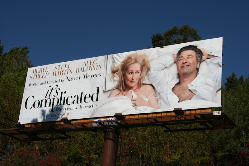 It's Complicated movie billboard