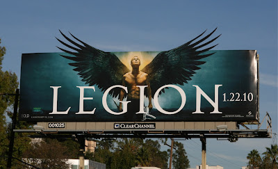 Legion Paul Bettany billboard