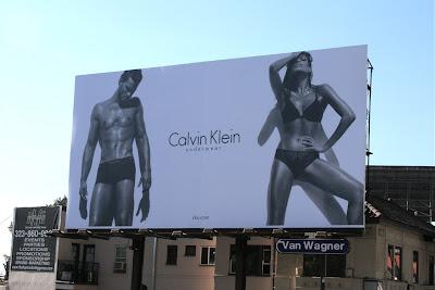 Sexy Calvin Klein underwear billboard