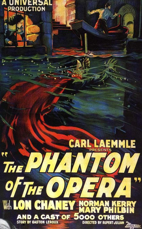 The Phantom of the Opera 1925 poster