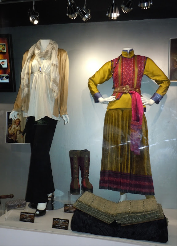 Universal Studios movie costume display