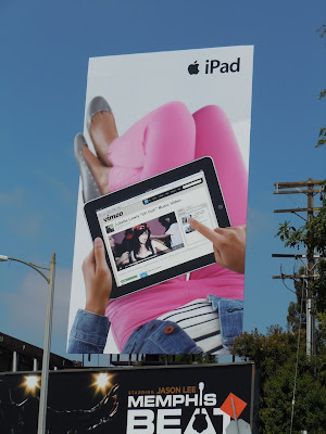 iPad billboard Sunset Boulevard