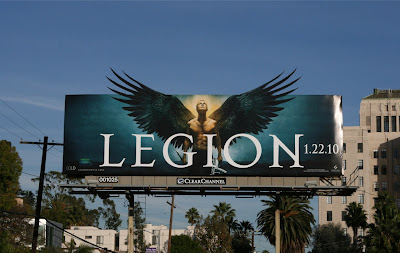 Legion winged archangel movie billboard