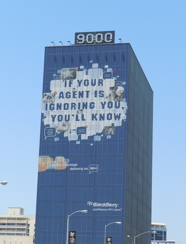 Blackberry Agent Ignoring billboard