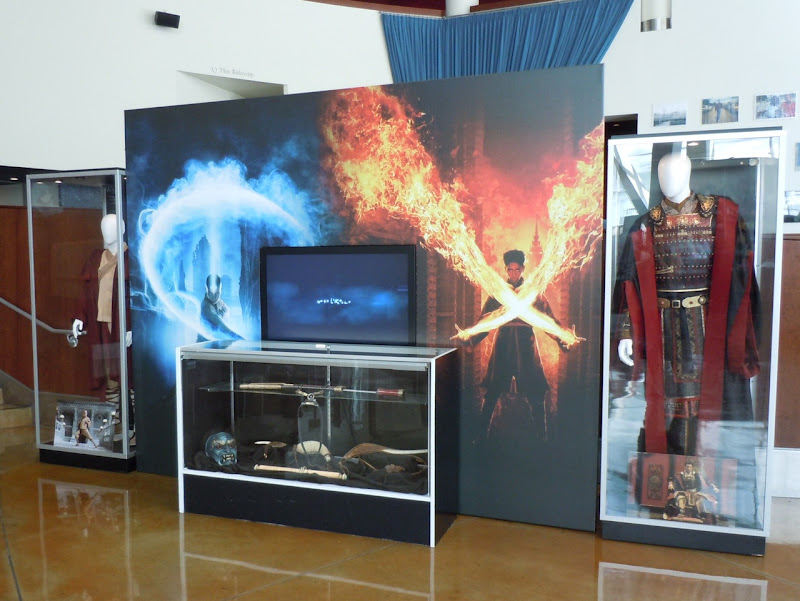 The Last Airbender movie costume display
