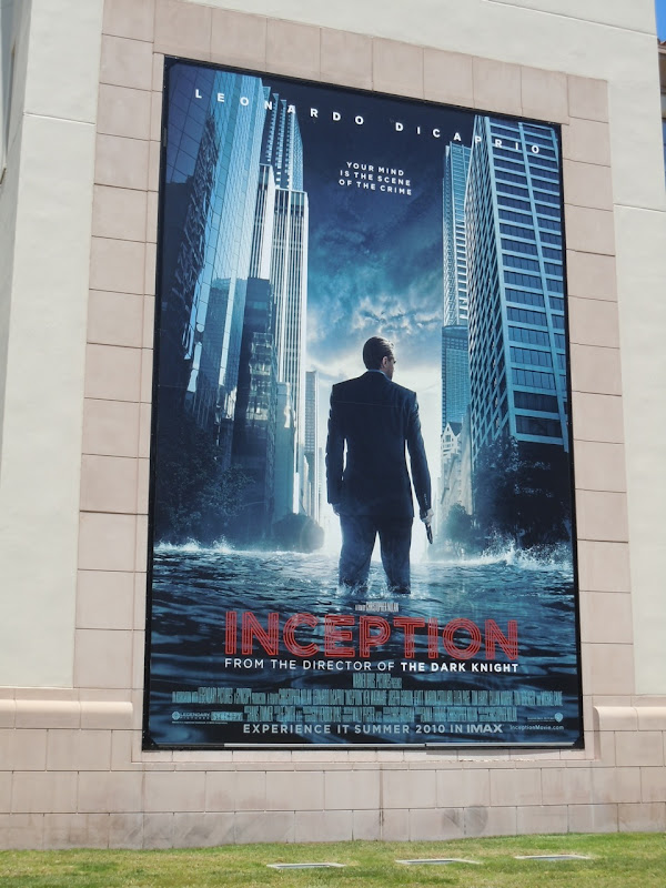 Inception film billboard