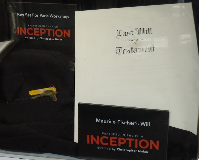 Inception movie props