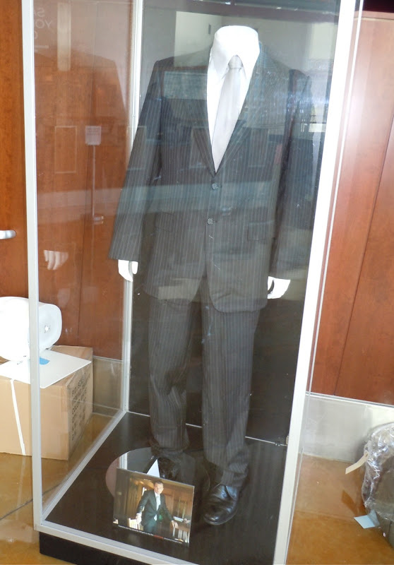 Leonardo DiCaprio Inception movie suit