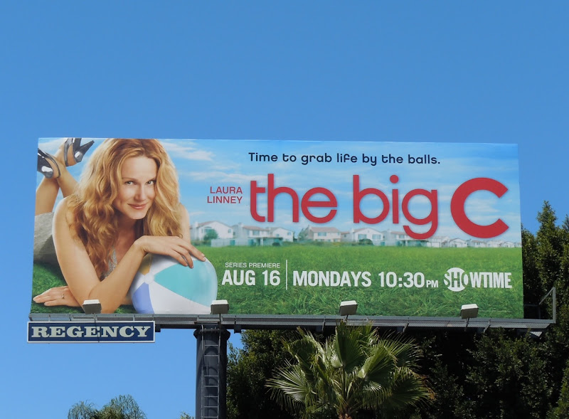 The Big C Showtime billboard