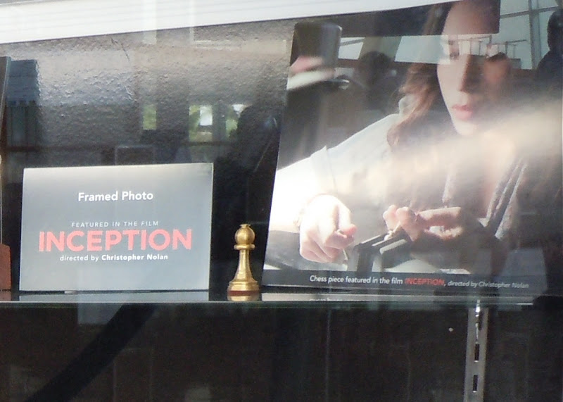 Inception Ariadne chess piece prop