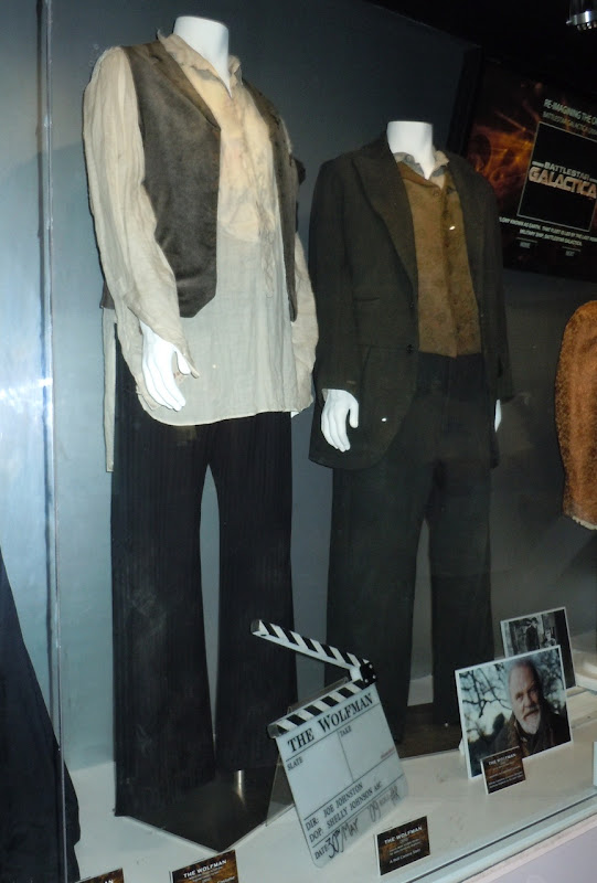 The Wolfman film costumes