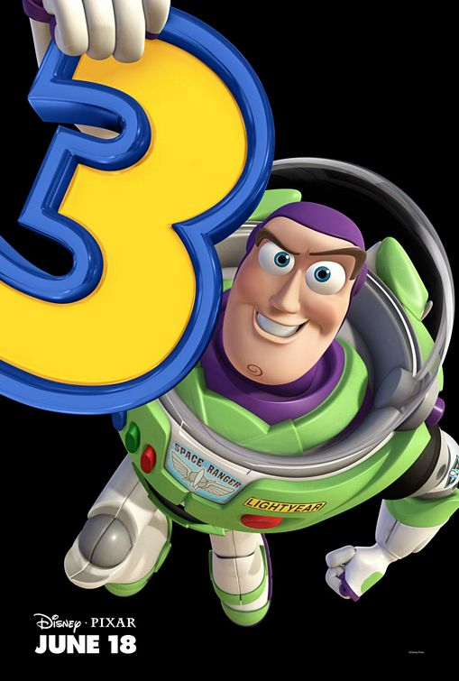 Buzz Lightyear Toy Story 3 poster