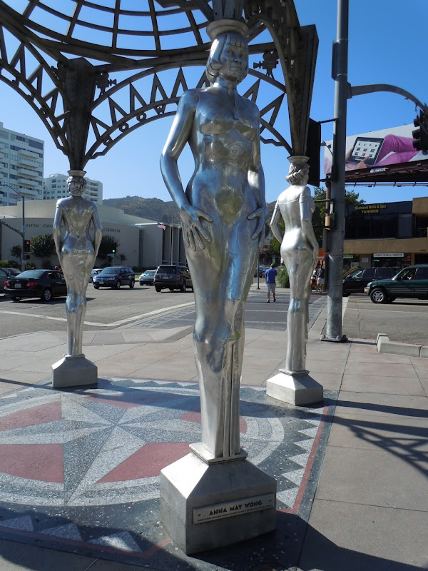 Anna May Wong Hollywood statue
