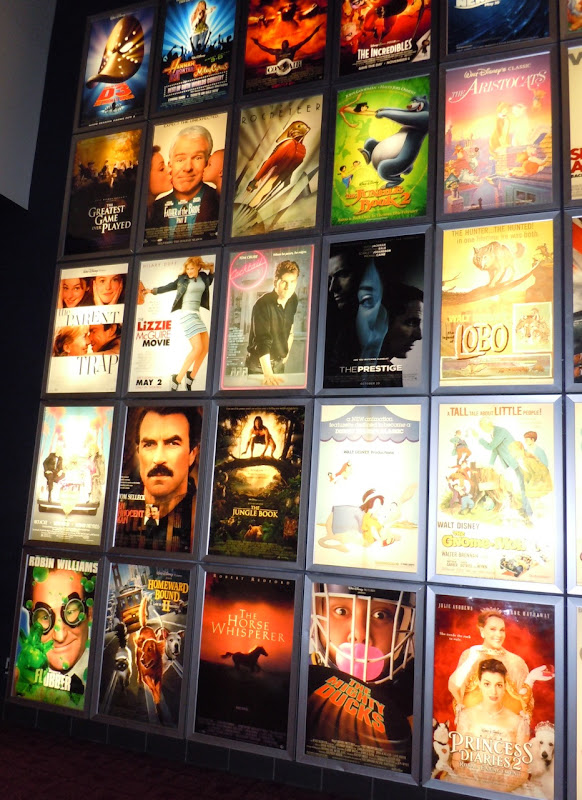 Disney poster wall  ArcLight Sherman Oaks cinema
