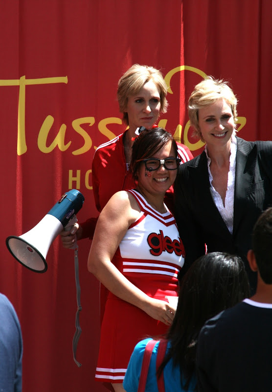 Sue Sylvester Jane Lynch and Gleek