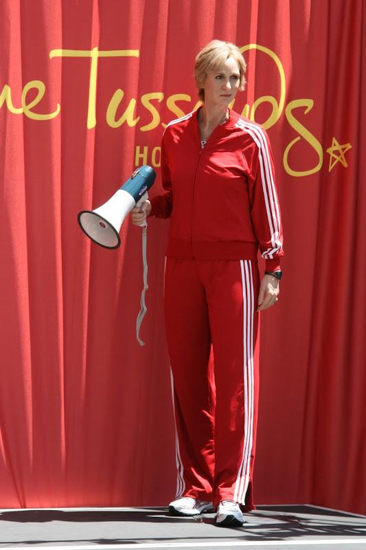 Sue Sylvester Glee Madame Tussauds waxwork