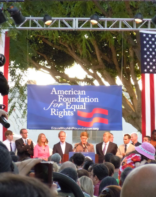 Prop 8 overturned WEHO rally