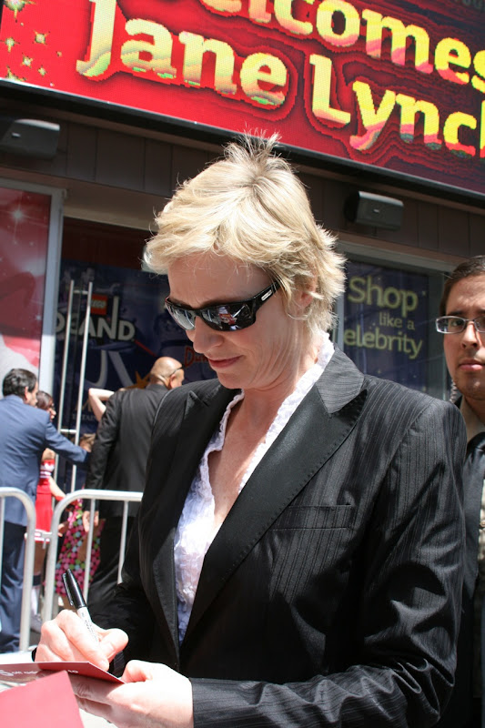 Jane Lynch aka Sue Sylvester