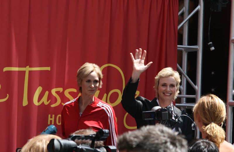 Sue Sylvester aka Jane Lynch Madame Tussauds