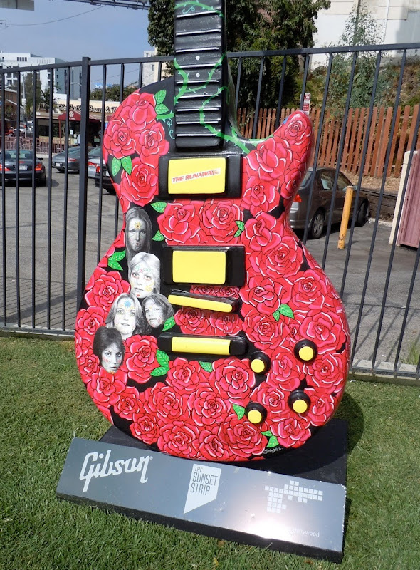 The Runaways guitar Sunset Strip