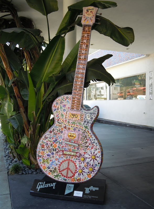 Summer of Love Guitar Sunset Strip