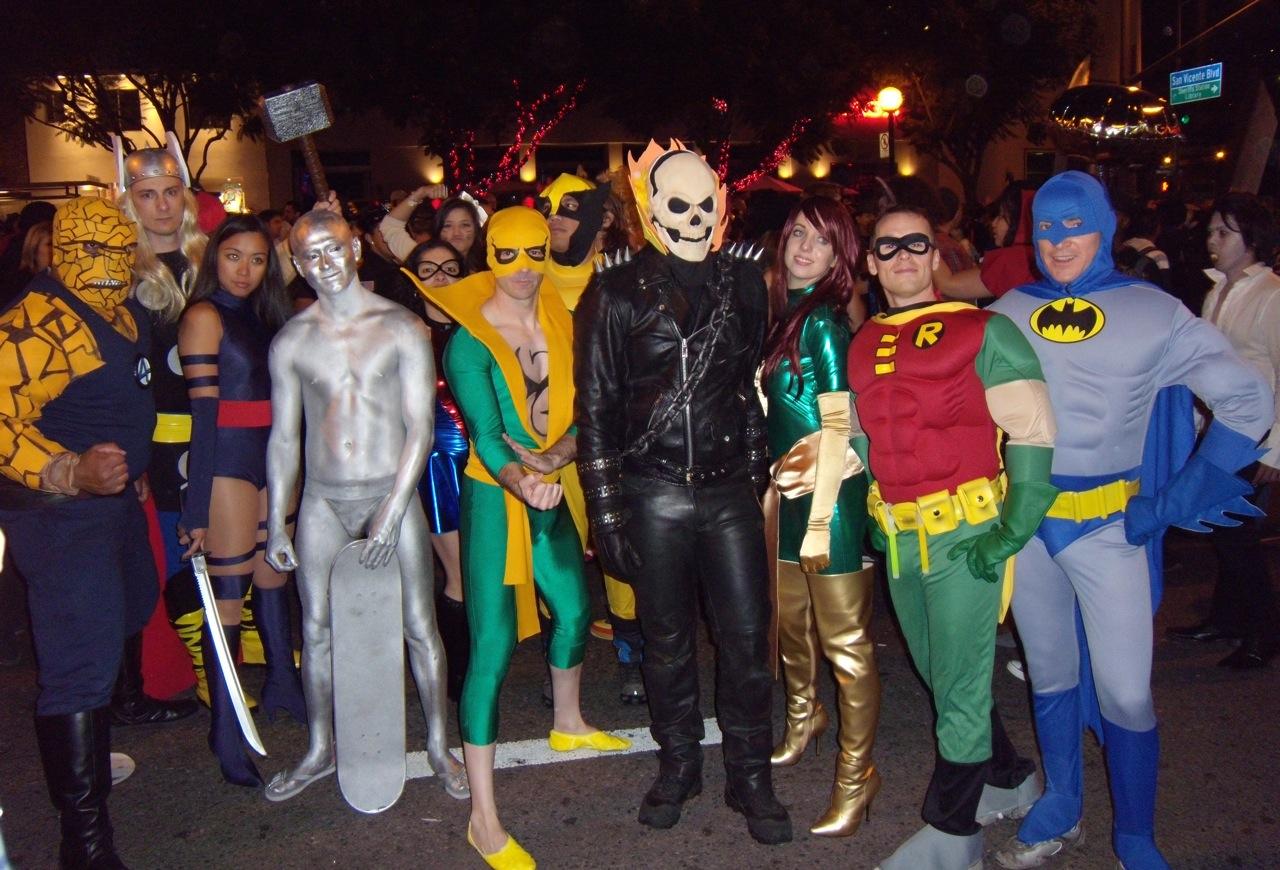 weho halloween carnaval heroes 09 - Heroes Halloween Costumes