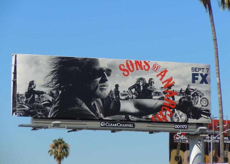 Sons of Anarchy season 3 TV billboard
