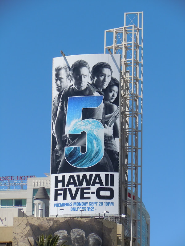 Hawaii Five-O TV billboard