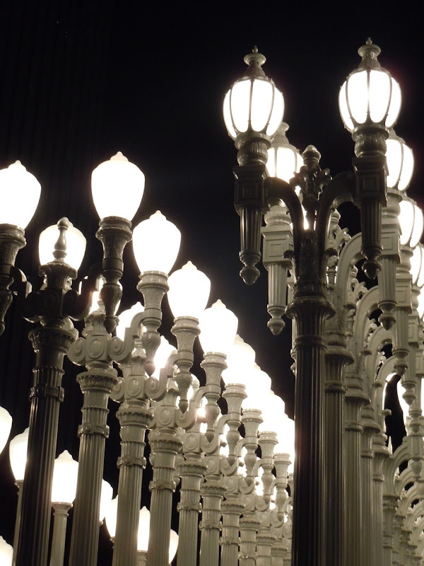 Urban Light vintage streetlamps