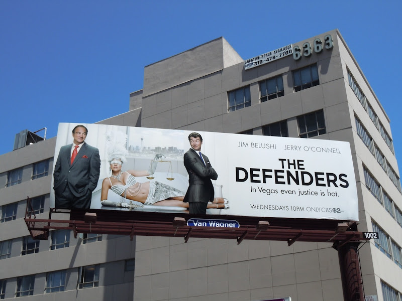 The Defenders TV remake billboard