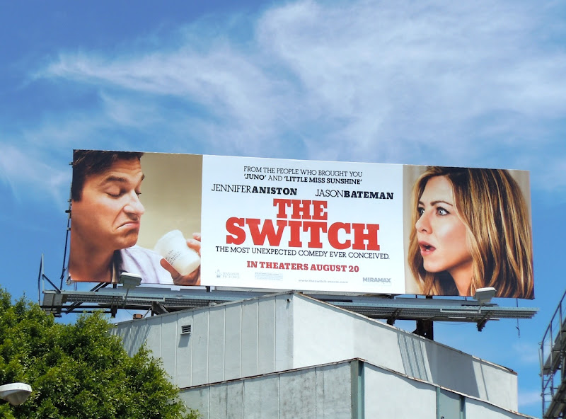 The Switch film billboard