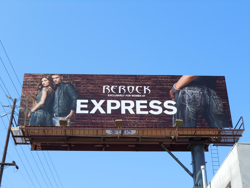 Rerock Jeans Express billboard
