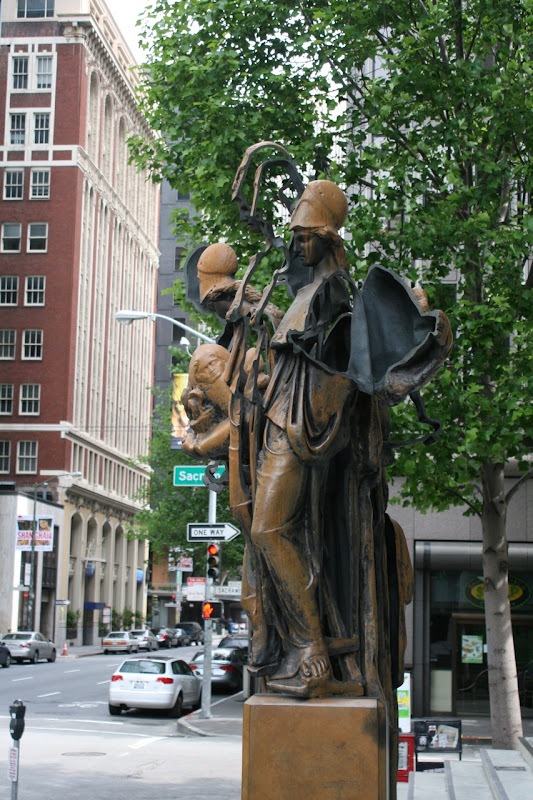 University of Wisdom Bronze sculpture