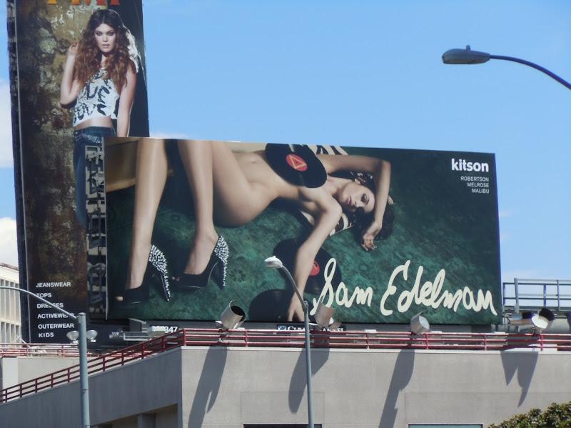 Sam Edelman studded Lorissa pumps billboard