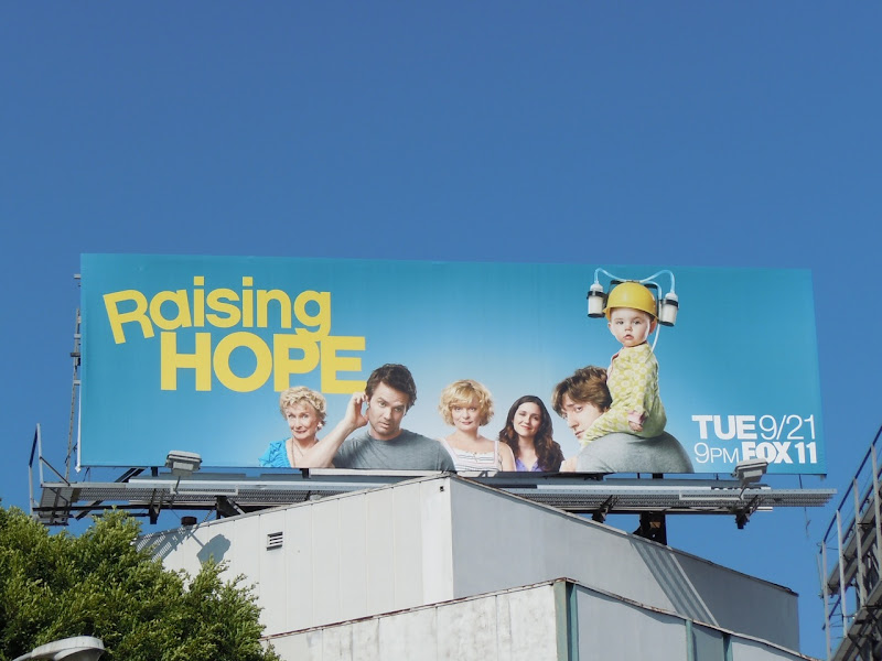 Raising Hope TV billboard