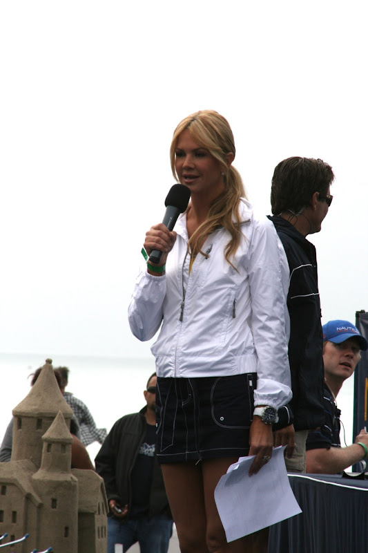 Nancy O'Dell Malibu Triathlon 2010