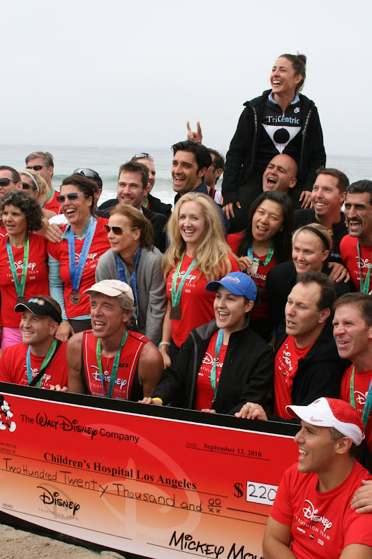 Malibu Triathlon Team Disney 2010