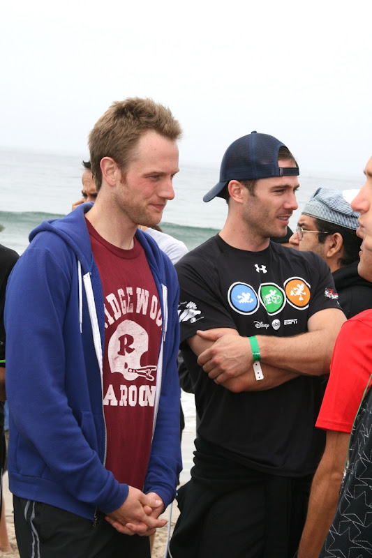 Luke Macfarlane after Malibu Triathlon