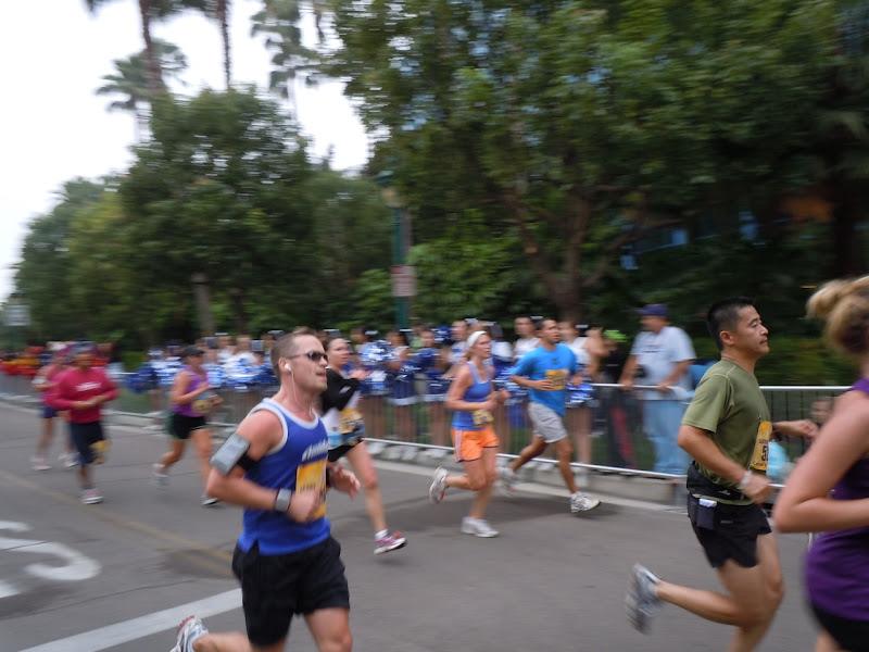 Running Disneyland Half Marathon 2010